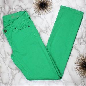 { J. Crew Matchstick Low-rise Skinny Leg Jeans